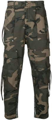 Stampd camouflage trousers