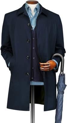Charles Tyrwhitt Blue Cotton RainCotton coat Size 38
