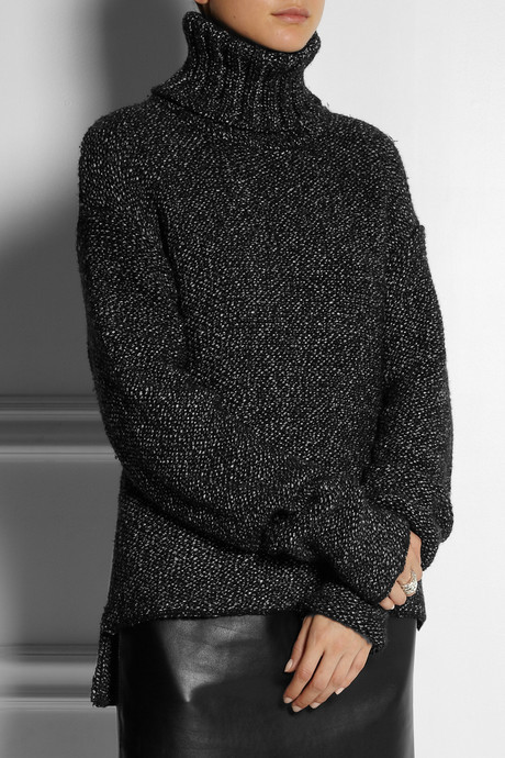 ADAM by Adam Lippes Oversized cashmere turtleneck sweater