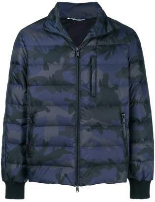 Valentino padded camouflage print jacket
