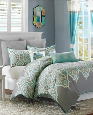 Madison Park Nisha 5-Pc. King/California King Duvet Cover Set Bedding