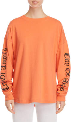 Juicy Couture City of Angels Long Sleeve Tee