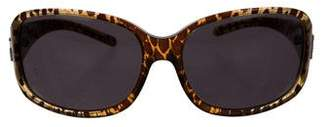 Dolce & Gabbana Printed Tinted Sunglasses