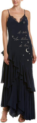 Cinq à Sept Alexandria Silk Gown