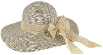 Kaleidoscope Spot Scarf Fedora Hat