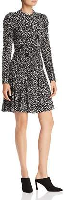 Rebecca Taylor Mini Cheetah Print Dress