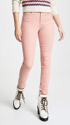 Rag & Bone High Rise Corduroy Skinny Jeans