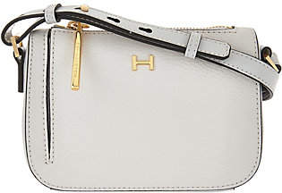 Halston H by Pebble & Smooth Leather MiniCrossbody Bag