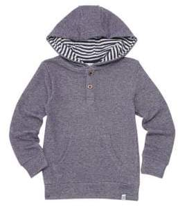 Sovereign Code Little Boy's Timus Knit Henley Hoodie