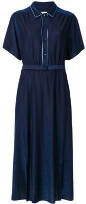 Golden Goose short sleeve belted dress