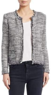 IRO Unplug Tweed Knit Jacket