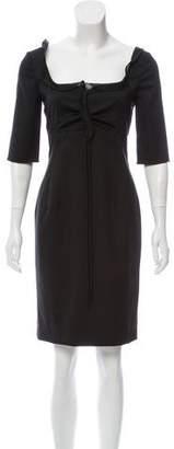 Valentino Empire Waist Knee-length Dress