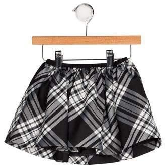 Ralph Lauren Girls' Plaid Flare Skirt