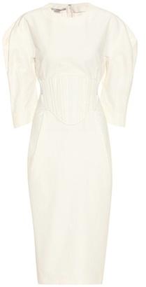 Cotton And Linen-blend Dress
