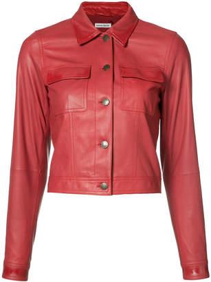 Tomas Maier cropped jacket