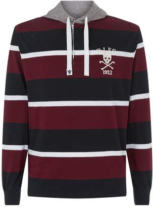 Polo Ralph Lauren Rugby Crest Contrasting Hoodie