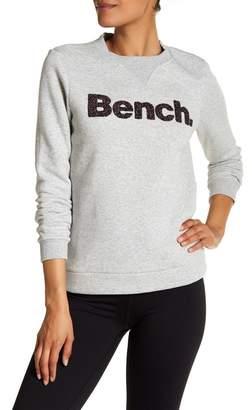 Bench Logo Crew Neck Sweatshirt