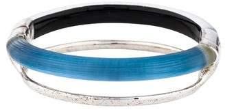 Alexis Bittar Double Band Liquid Metal Hinge Bracelet