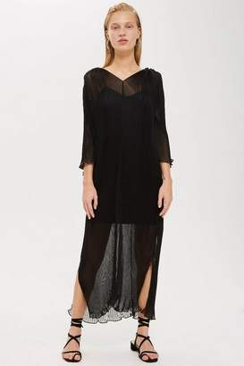 Topshop **Pleated Batwing Dress by Boutique