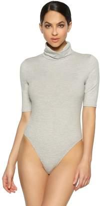 Jezebel Women's Velvet Touch Turtleneck Bodysuit 900218