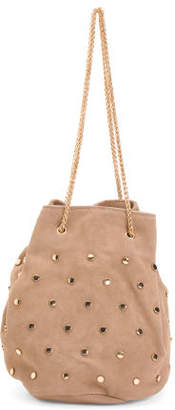 Suede Colette Chain Shoulder Strap Hobo