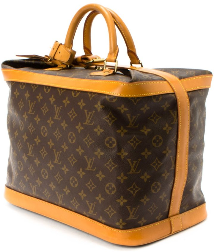 Louis Vuitton Pre-Owned: brown monogram canvas 'Cruiser 40' bag