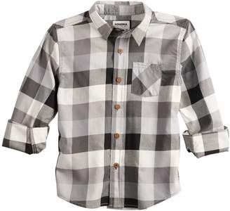 Sonoma Goods For Life Boys 4-12 SONOMA Goods for Life Plaid Button Down Shirt