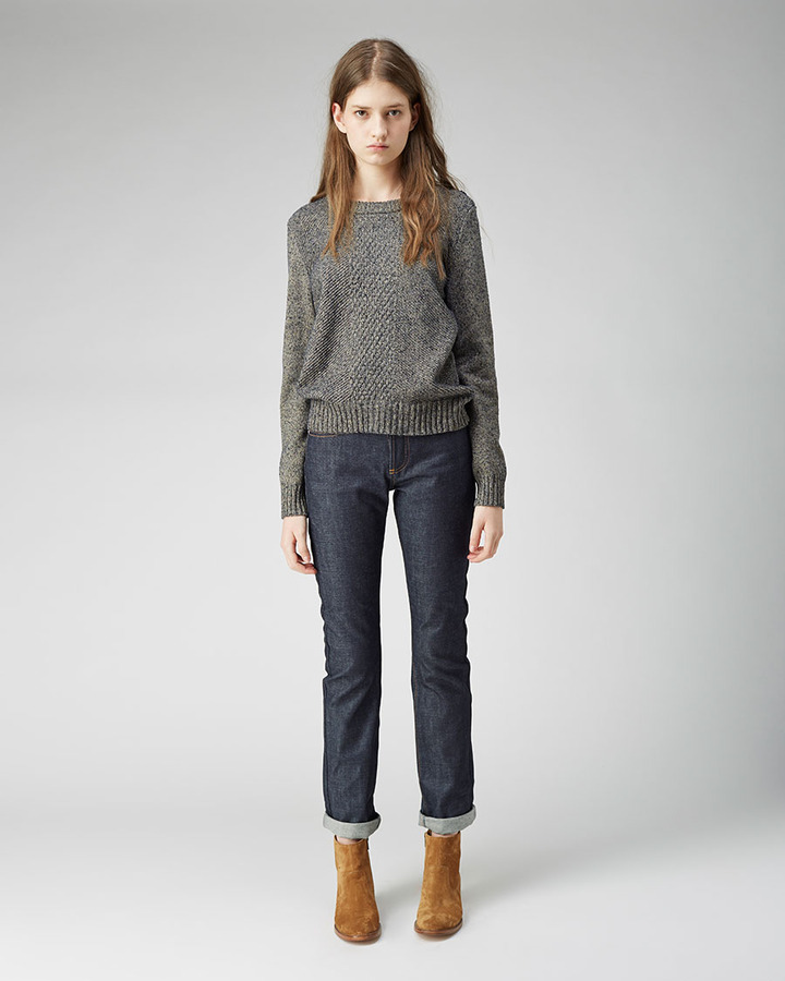 A.P.C. new cure raw jean