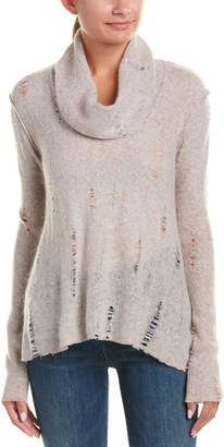 Three Dots Thea Mohair-Blend Sweater