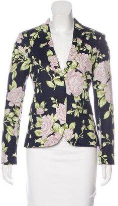 Rag & Bone Notched Floral Print Blazer w/ Tags