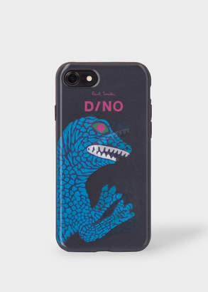 Paul Smith Black 'Dino' Motif Lenticular iPhone 7 Case