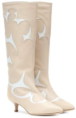 Tibi Jagger leather boots