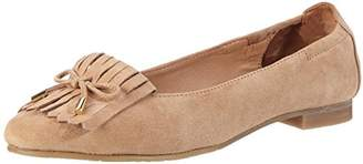 Belmondo Women's Slipper und Mokassins-Damen Mocassins Off-White Size: 12