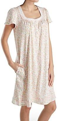 at Amazon.com · Aria Women s Cotton Jersey Short Nightgown cb7ab203b