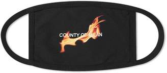 Marcelo Burlon County of Milan Flame Mask