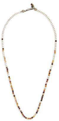 George Frost Mookaite Bead Necklace