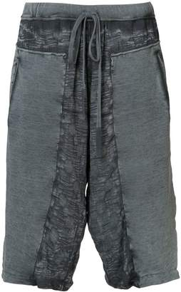 Lost & Found Ria Dunn distressed track shorts