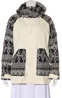 Burton Hooded Printed Jacket w/ Tags