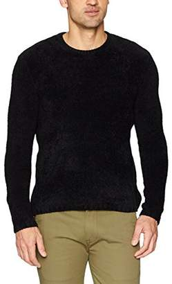 ATM Anthony Thomas Melillo Men's Chenille Crew Neck Sweater