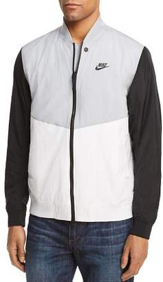 Nike Varsity Color-Block Bomber Jacket