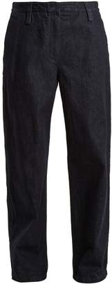 THE ROW Werto slouchy wide-leg jeans $590 thestylecure.com