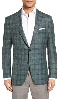 Men's Peter Millar Classic Fit Plaid Wool Blend Sport Coat $795 thestylecure.com