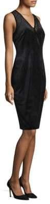 Elie Tahari Mikaya Velvet Dress