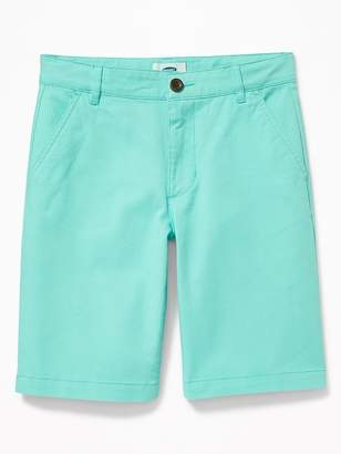 Old Navy Built-In Flex Twill Shorts for Boys