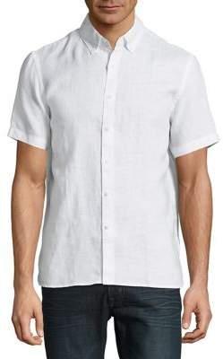 Black & Brown Black Brown Classic Linen Button-Down Shirt