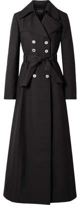 Giambattista Valli Woven Trench Coat - Black