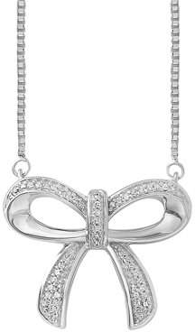 Online Sterling Silver Diamond Necklace