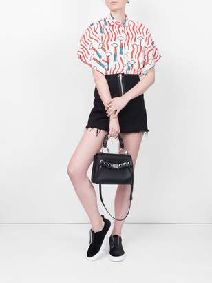 Alexander Wang Zip mini skirt