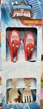 Marvel Spiderman Flatware Set Spoon & Fork