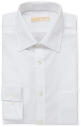 MICHAEL Michael Kors White Regular Fit Non-Iron Dress Shirt